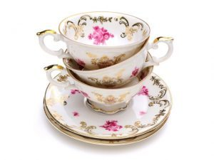 Buying and Selling Antiquities - Fine China Tea sets