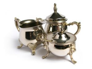 Buying and Selling Antiquities - Tea Set