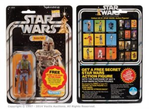 Buying action figures and vintage toys - Boba Fett